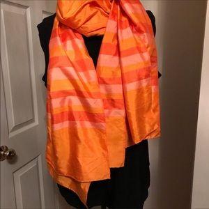 Accessories - Thai oversized vintage silk wrap scarf